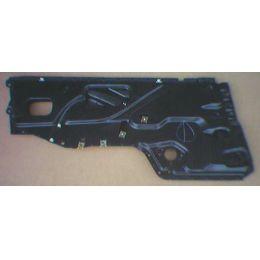 Doorplate Tür innen Audi 80 89 4T / VR - VAG / VW / Audi 9.86 - 8.91 - Seiten Fenster Halte Platte - gebraucht