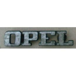 Emblem Grill Opel Rekord D / Commodore B - GM / Vauxhall Cavalier 9.71 - 8.77 - Schriftzug / Logo Kühlergrill