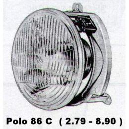Scheinwerfer VW Polo 86C .1 H4 - 9.82 - 8.90 - gebraucht