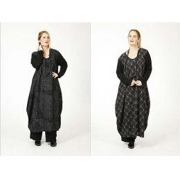 Lagenlook Kleid festlich mit Pailletten