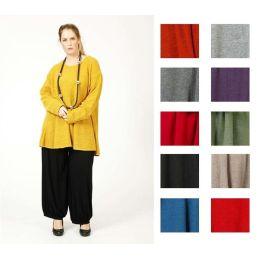 Lagenlook Pullover A-Linie tolle Farben