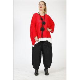 Lagenlook Pullover weit und kastig