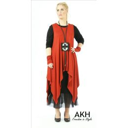 Lagenlook Tunika kupfer XL XXL AKH Fashion
