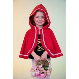Cape - Rotkäppchen - Umhang - Märchenfigur