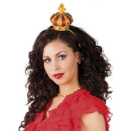 Haarreif mit Krone - Krönchen für die Haare