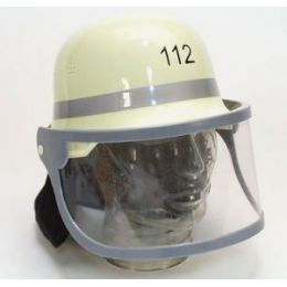 Helm Feuerwehrhelm (Kinder) Klappvisier - Karneval