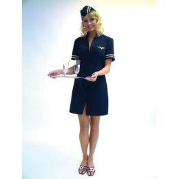 Kostüm Stewardess - Flugbegleiterin - Gr. 40/42 - Damenkostüm - SONDERPREIS