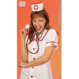Krankenschwester Haube Hut (Erwachsene)- Karneval Fasching Junggesellenabschied