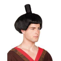 Perücke - Samurai - schwarz (Erwachsene)