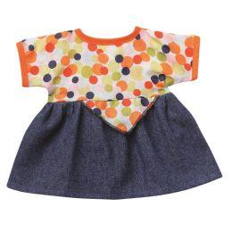 Bunte Sommerkleider bunte Punkte  Puppenkleidung für 24-26 cm Schwenk