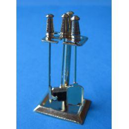 Kamin Besteck Zubehör für Puppenhaus Dekoration Miniatur 1:12