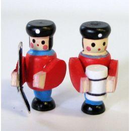 Mini Figuren Soldaten 2 Stück Dekoration für die Puppenhaus Dekoration Miniaturen 1:12