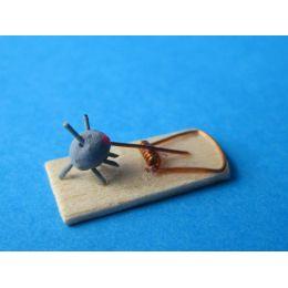 Mini Mausefalle für Puppenhaus Dekorationen Miniaturen 1:12