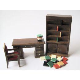 Modernes Puppenhaus Arbeitszimmer Puppenhausmöbel 1:12