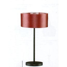 Stehlampe mit weinroten Stoffschirm Puppenhaus Dekorationen Miniaturen