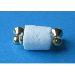 Toilettenpapier mit Halter Puppenhaus Badezimmer Miniatur 1:12
