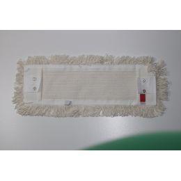 Baumwollmopp 50 cm weiß mit Lasche und Tasche