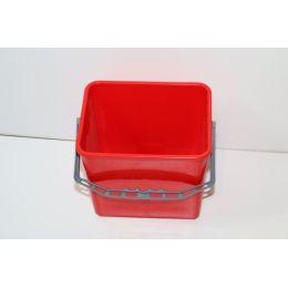 Eimer 6 Liter rot