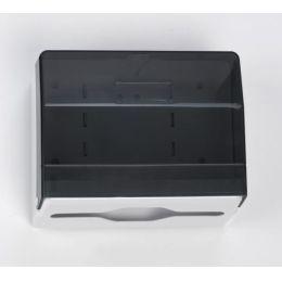 Handtuchspender klein (250), Kunststoff schwarz