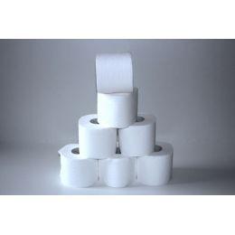Toilettenpapier 64 Rollen 250 Blatt, 3 lagig, Zellstoff hochweiss