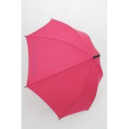 Benetton Stockschirm dunkles pink Regenschirm