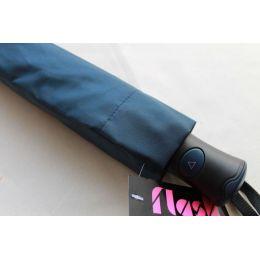 blauer Regenschirm Flash Mini AC  navy blau Taschenschirm