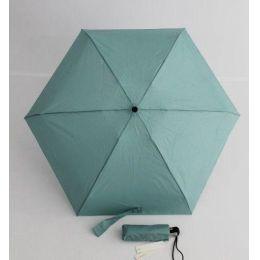 Esprit Automatik Mini Regenschirm Damenschirm 22 cm hellgrüner Taschenschirm