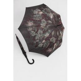 Happy Rain  Regenschirm lila Klassik 01 Stockschirm für Damen