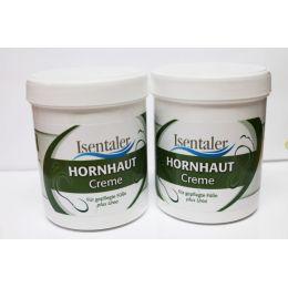 Isentaler Hornhautcreme 2 x 250 ml mit Urea und Teebaumöl