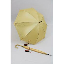 Pierre Cardin gelber Regenschirm Stockschirm metalique