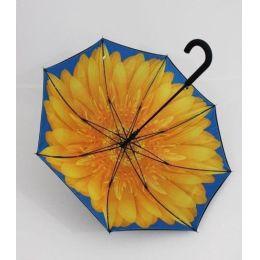 Susino Regenschirm Stockschirm Sonnenblume 01 doppelt bespannt 13101