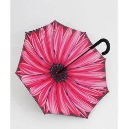 Susino Regenschirm Stockschirm Sonnenblume 03 doppelt bespannt 13101