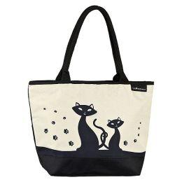Von Lilienfeld Shoppertasche Tasche schwarze Katzen