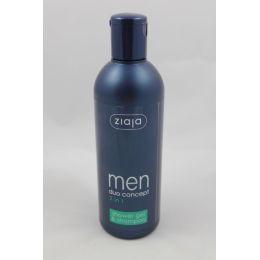 ZIAJA 2 in1 Duschgel und Shampoo für Herren 300 ml