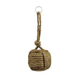 **2X Schlüsselanhänger- Affenfaust aus geflochtenem Tauwerk