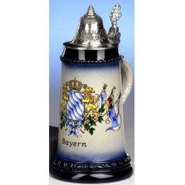 Bierkrug - Andenkenkrug- Bayernwappen 0,5 L