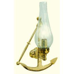 **Elegante Messing- Schiffslampe - Schiffsleuchte - Wandleuchte  35 cm