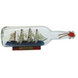 **Flaschenschiff- Buddelschiff- Schiff in Flasche- Passat -L 29 cm