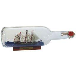 **Flaschenschiff- Buddelschiff- Schiff in Flasche- Rickmer Rickmers -L 29 cm