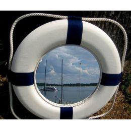 **GROSSER Rettungsring mit Spiegel 50 cm- ******ROT/WEISS*****