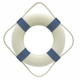 **maritime Deko- Rettungsring- blau/weiß 30 cm