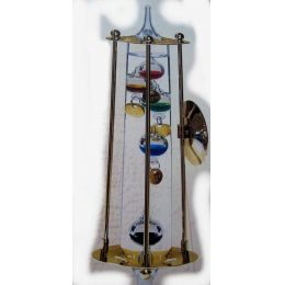 **Modell 2- Galileo Therm. mit Metallgehäuse und Echtgoldauflage- deutsche Herstellung