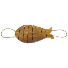 ** Untersetzer aus Holz - Motiv Fisch, geteilt - 30 cm