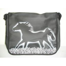 City-Bag Galopp-Schattenriss