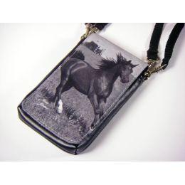 Handytäschchen/Digitalkamera-Tasche Pferd (Hengst)