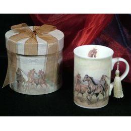 Kaffeebecher / Tasse Pferd Nostalgie