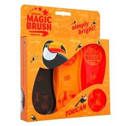 Magic Brush Pferdebürsten 3er Set Toucan