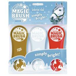 Magic Brush Pferdebürsten 3er Set Winter Fun (limited Edition)