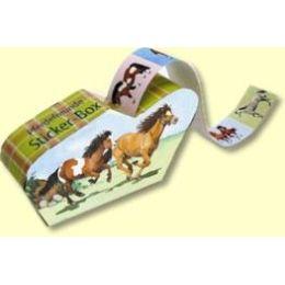 Mini-Sticker Pferdefreunde
