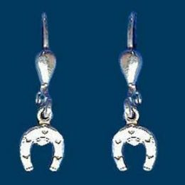 Ohrhänger Hufeisen, Silber 925